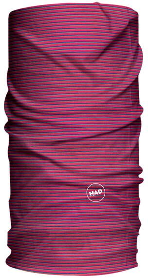 HAD Solid Stripes sjaal rood